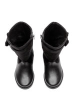 Warm-lined boots - Black - Kids | H&M 2